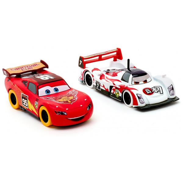Disney Store Fordon Disney Pixar Bilar Blixten Mcqueen Och Shu Todoroki Diecast-Modeller från Disney store