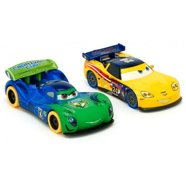 Disney Store Fordon Disney Pixar Bilar Carla Och Jeff Diecast-Modeller från Disney store