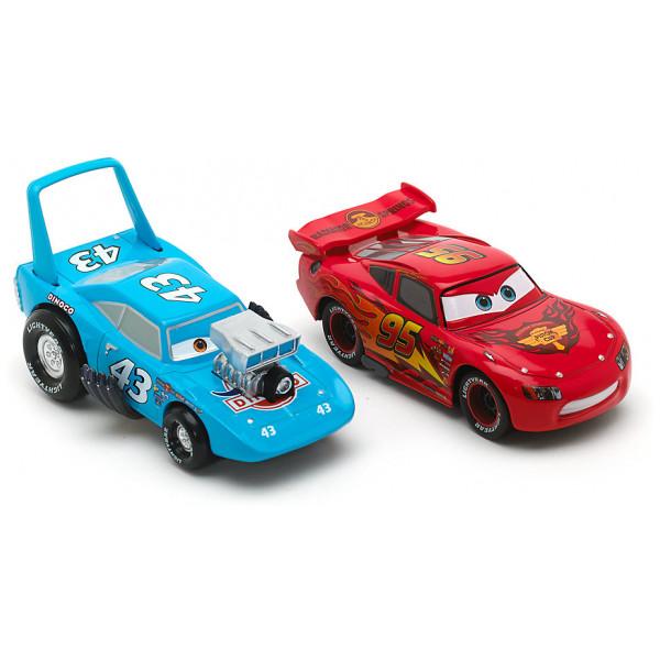 Disney Store Fordon Disney Pixar Bilar Hot Rod Blixten Mcqueen Och Kungen Diecast-Modeller från Disney store