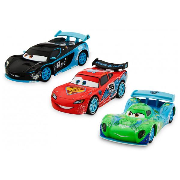 Disney Store Fordon Disney Pixar Bilar Ice Diecast-Modeller Set Med 3 från Disney store