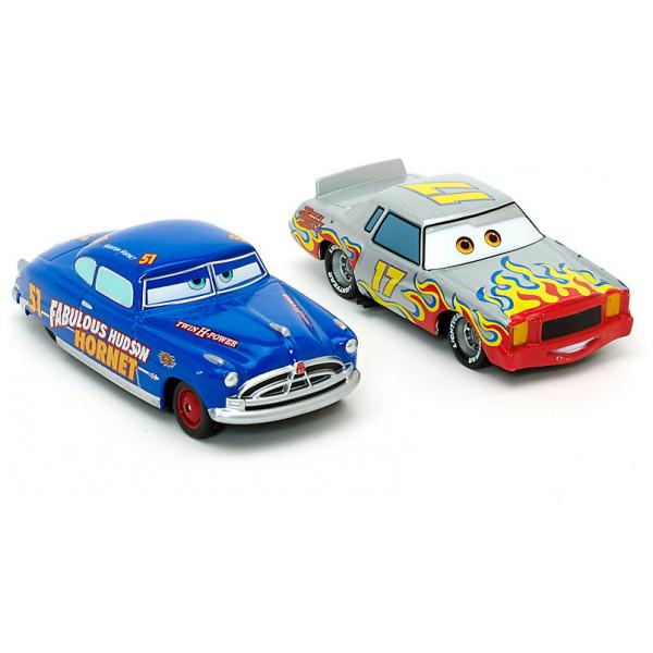 Disney Store Fordon Disney Pixar Bilar Johan Motorén Och Hudson Hornet Diecast-Modeller från Disney store