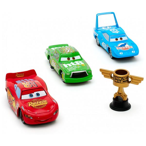 Disney Store Fordon Disney Pixar Bilar Pistongcupen Diecast-Set från Disney store