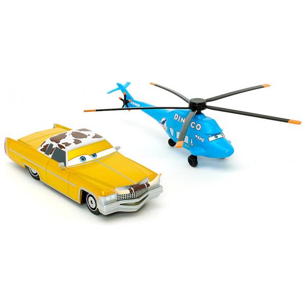 Disney Store Fordon Disney Pixar Bilar Tex Och Dinoco Chopper Diecast-Modeller från Disney store
