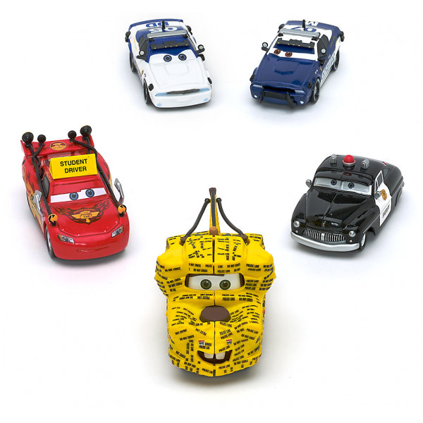 Disney Store Fordon Disney Pixar Bilar To Protect And Serve Diecast-Modeller Set Med 5 från Disney store