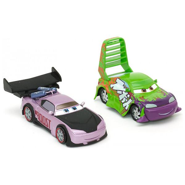 Disney Store Fordon Disney Pixar Bilar Wingo Och Boost Diecast-Modeller från Disney store