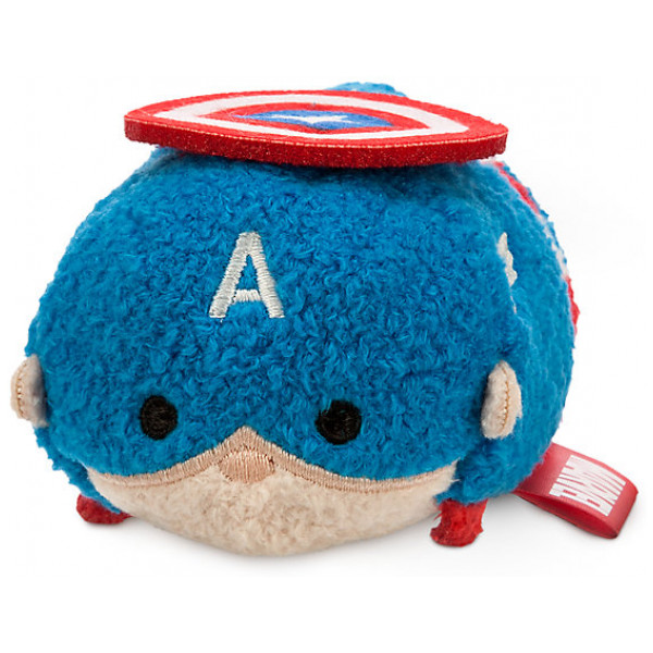 Disney Store Gosedjur Captain America Tsum Litet från Disney store