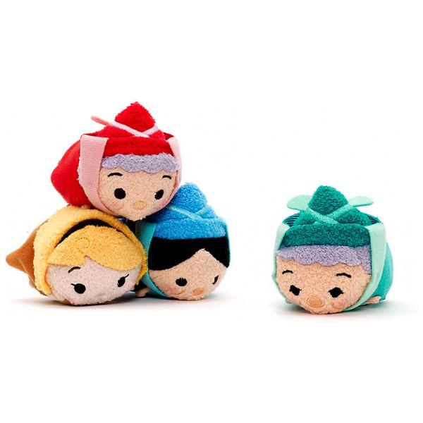 Disney Store Gosedjur Törnrosa Tsum Set Med Små från Disney store
