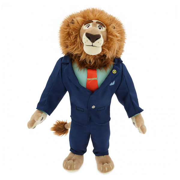Disney Store Gosedjur Zootropolis Borgmästare Lionheart från Disney store