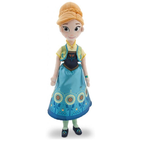 Disney Store Gosedjursdocka Frostfeber Anna Gosedocka från Disney store