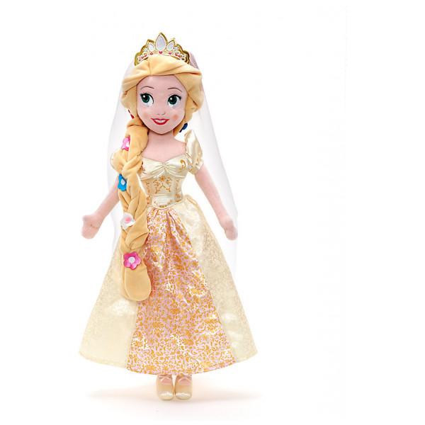 Disney Store Gosedjursdocka Rapunzels Bröllop Gosedocka från Disney store