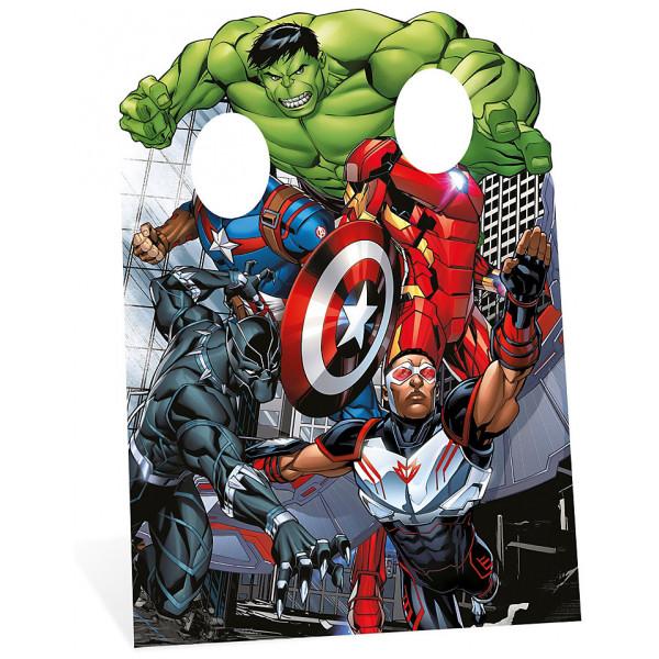 Disney Store Kalas Avengers Utstansad Figur Med Hål För Ansiktet från Disney store