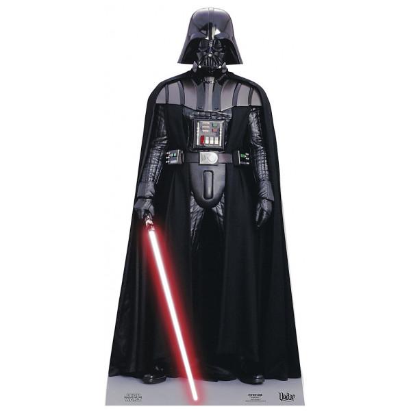 Disney Store Kalas Darth Vader Kartongfigur från Disney store