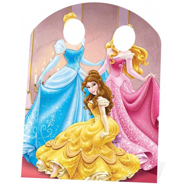 Disney Store Kalas Disney Prinsessor Utstansad Figur Med Hål För Ansiktet från Disney store