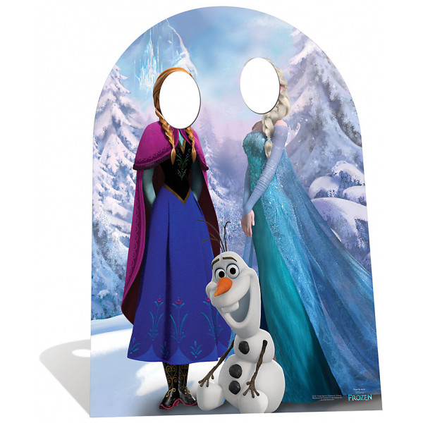 Disney Store Kalas Frost Stand-In Kartongfigur från Disney store