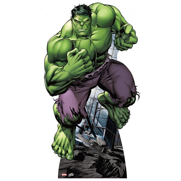 Disney Store Kalas Hulk Kartongfigur från Disney store