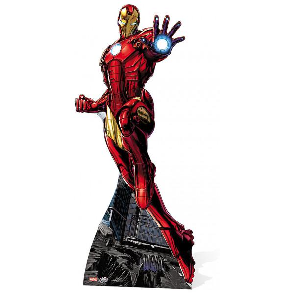 Disney Store Kalas Iron Man Kartongfigur från Disney store
