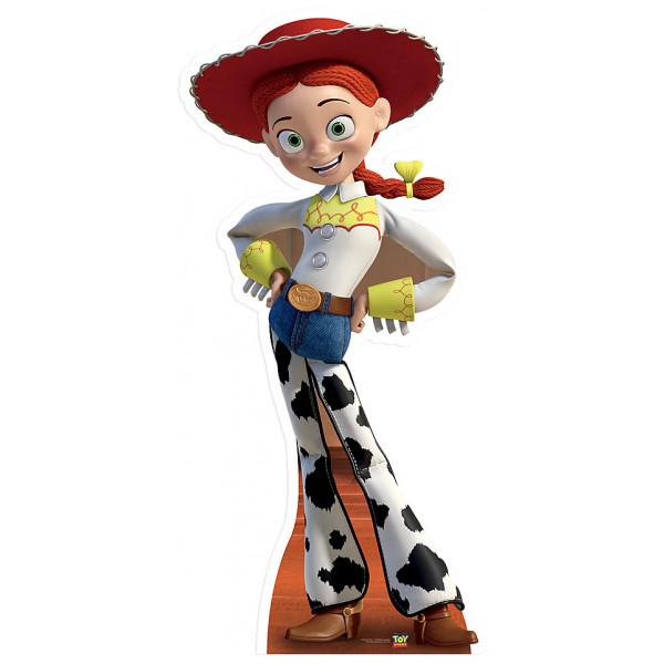 Disney Store Kalas Jessie Kartongfigur Toy Story från Disney store