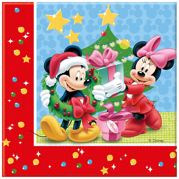 Disney Store Kalas Musse Pigg 20X Julservetter från Disney store