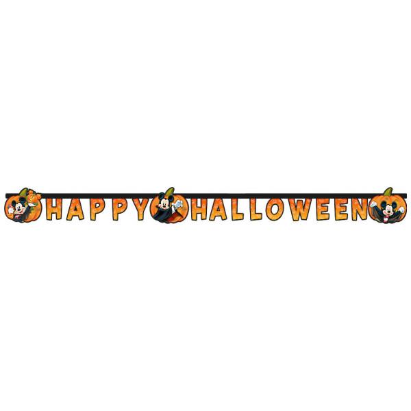 Disney Store Kalas Musse Pigg Happy Halloween-Banderoll från Disney store