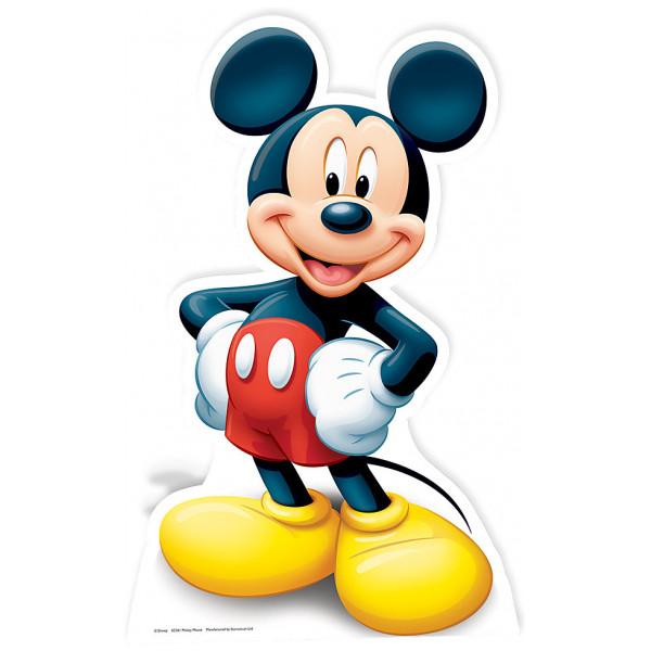 Disney Store Kalas Musse Pigg Kartongfigur från Disney store