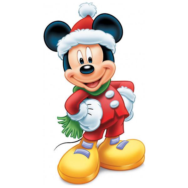 Disney Store Kalas Musse Pigg Utstansad Julfigur från Disney store