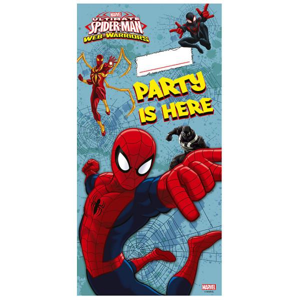 Disney Store Kalas Spiderman Dörrbanderoll från Disney store