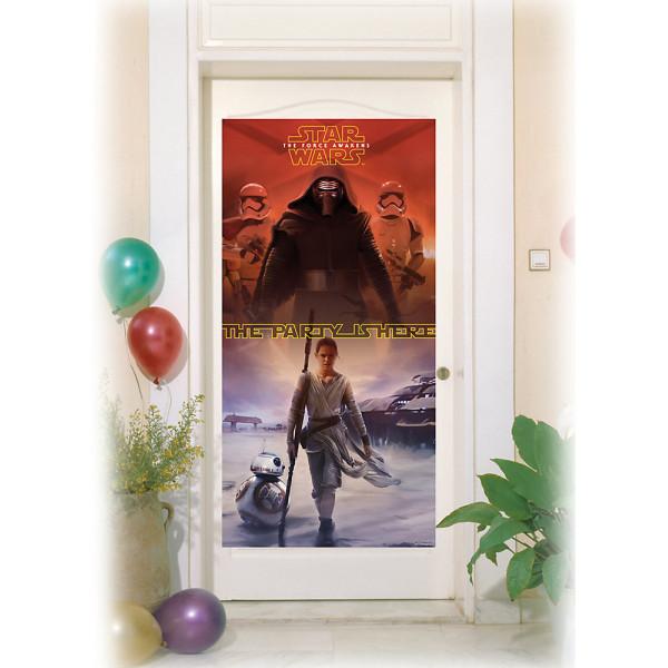 Disney Store Kalas Star Wars The Force Awakens Dörrbanderoll från Disney store