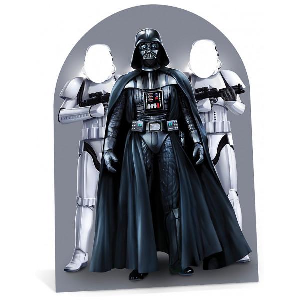 Disney Store Kalas Star Wars Utstansad Figur Med Hål För Ansiktet från Disney store