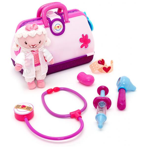 Disney Store Leksak Doktor Mcstuffins Leksakssjukhus Med Lammi från Disney store
