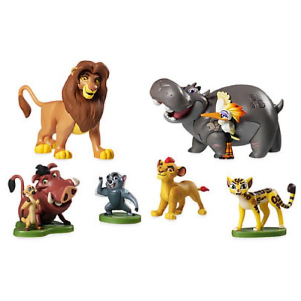 Disney Store Leksak Lejonvakten Lekset Med Figurer från Disney store