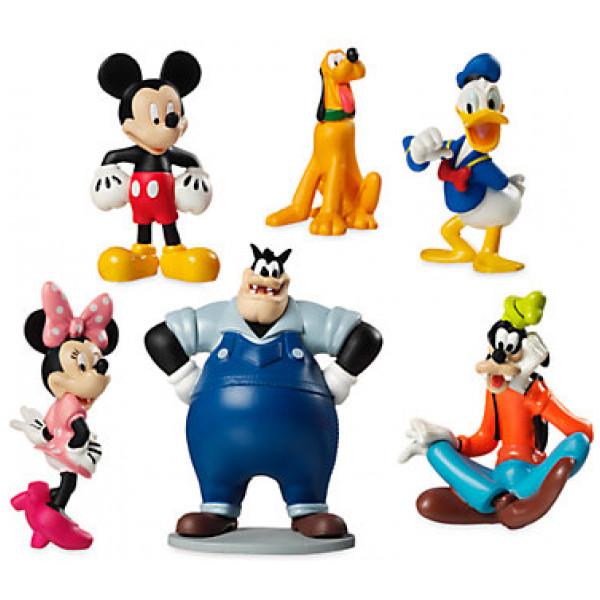 Disney Store Leksak Musses Klubbhus Statyetter Lekset från Disney store