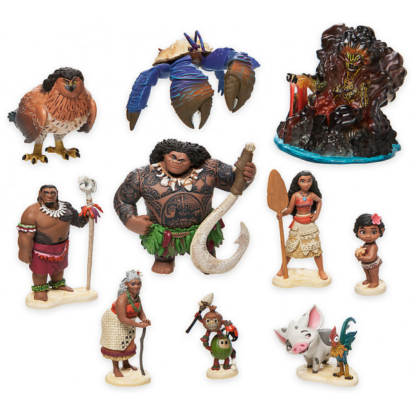 Disney Store Leksak Vaiana Figurlekset Deluxe från Disney store
