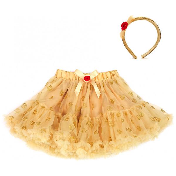 Disney Store Maskerad Belle Ballerinakjol För Barn Med Tillbehör Skönheten Och Odjuret från Disney store