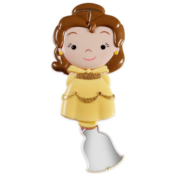 Disney Store Maskerad Belle Hårborste Med Spegel från Disney store