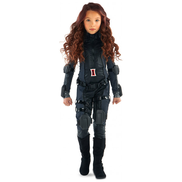 Disney Store Maskerad Black Widow Maskeraddräkt Captain America Civil War från Disney store