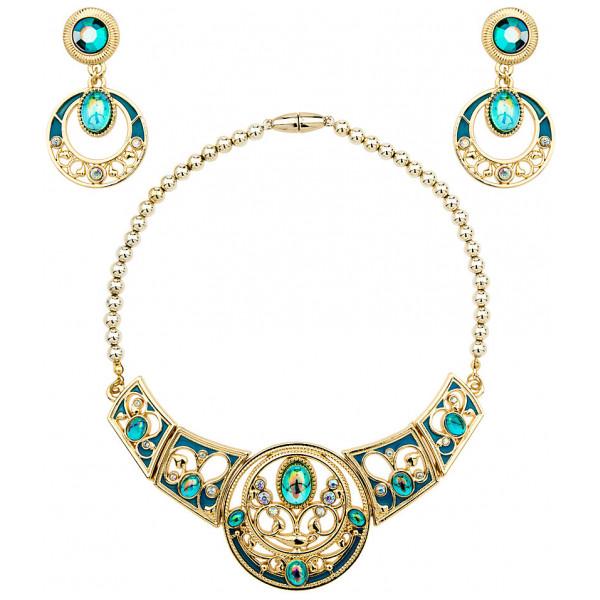 Disney Store Maskerad Prinsessan Jasmin Halsband Och Örhängen från Disney store
