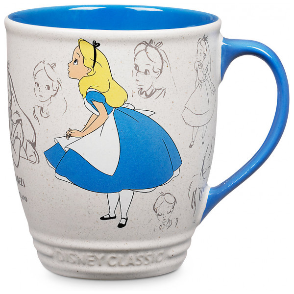 Disney Store Mugg Alice I Underlandet Animation Collection från Disney store