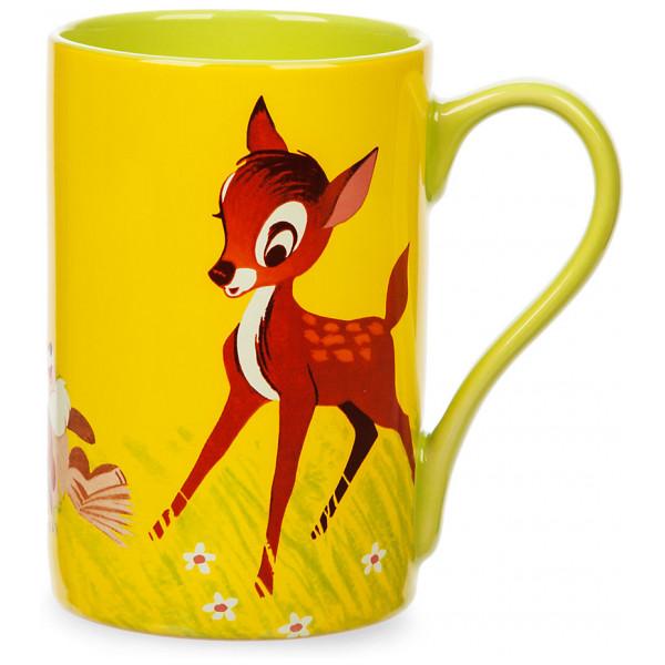 Disney Store Mugg Bambi Och Stampe Med Vinylomslagskonst från Disney store