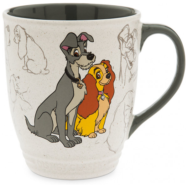 Disney Store Mugg Lady Och Lufsen Animation Collection från Disney store