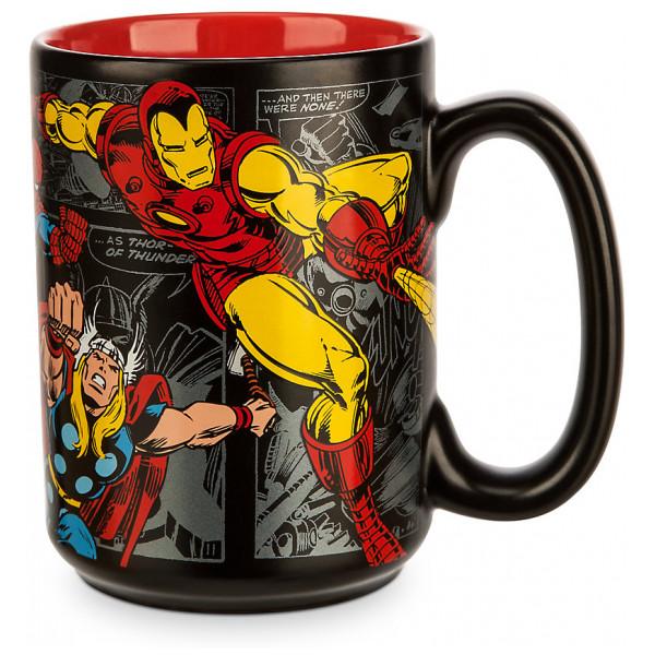 Disney Store Mugg Marvel Svart från Disney store