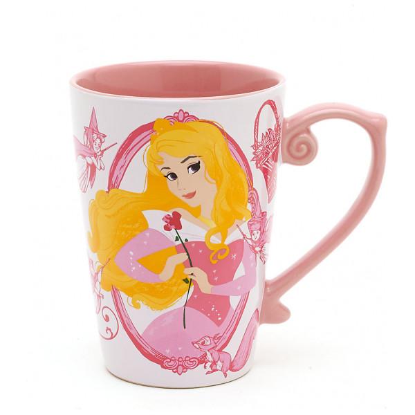 Disney Store Mugg Törnrosa Prinsessmugg från Disney store