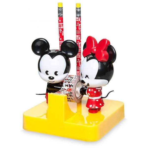 Disney Store Musse Och Mimmi Mxyz Set Med Skrivbordsprylar från Disney store
