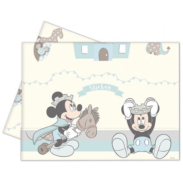 Disney Store Partyduka Musse Pigg Som Prins Bordsduk från Disney store