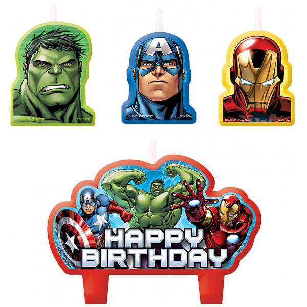 Disney Store Partydukning Avengers Födelsedagsljus från Disney store