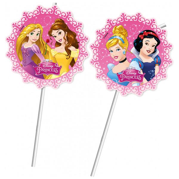 Disney Store Partydukning Disney Prinsessor Böjbara Sugrör Set Med 6 från Disney store