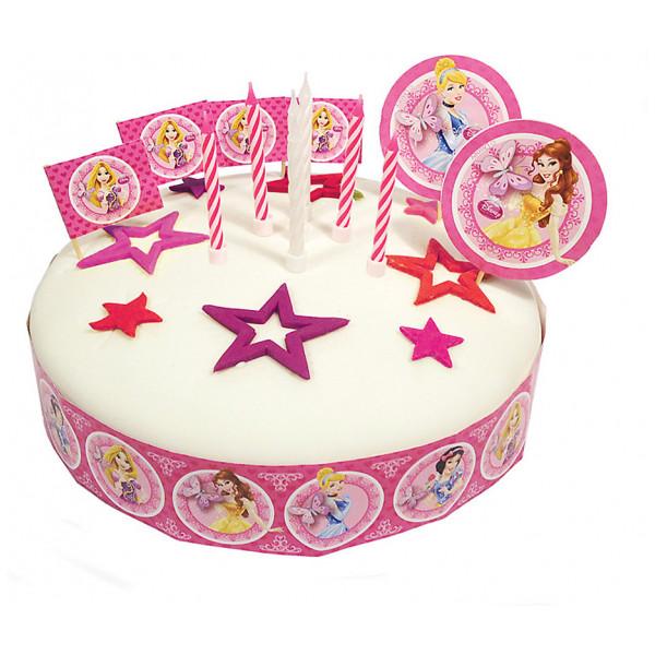 Disney Store Partydukning Disney Prinsessor Set Med Tårtdekorationer från Disney store