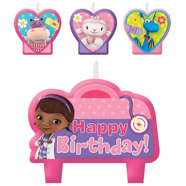 Disney Store Partydukning Doktor Mcstuffins Födelsedagsljus från Disney store