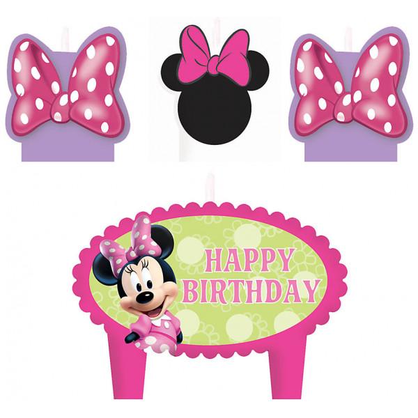 Disney Store Partydukning Mimmi Pigg Födelsedagsljus från Disney store