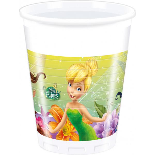 Disney Store Partymugg Disney Fairies 8X Partymuggar från Disney store