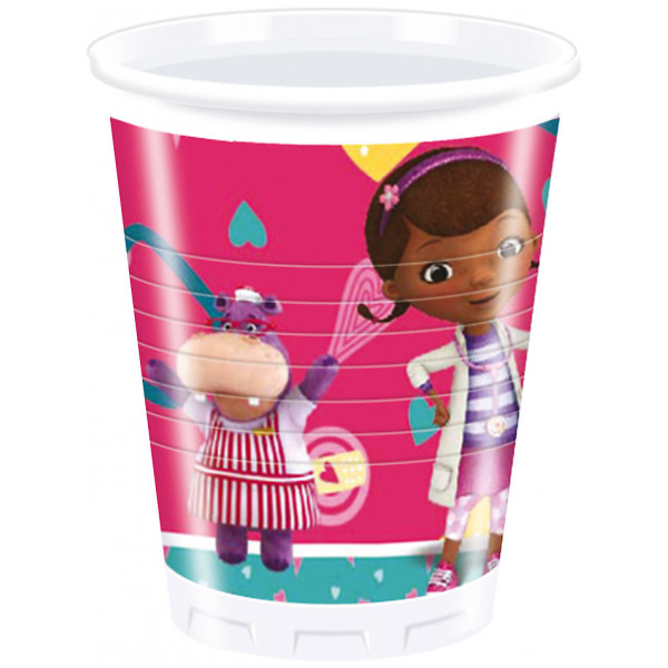 Disney Store Partymugg Doktor Mcstuffins Partymuggar Set Med 8 från Disney store